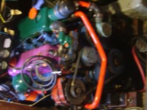 new engine color scheme